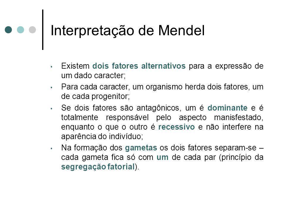 Interpretação de Mendel