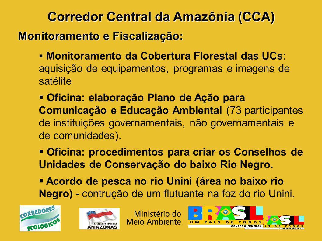 Corredor Central da Amazônia (CCA)