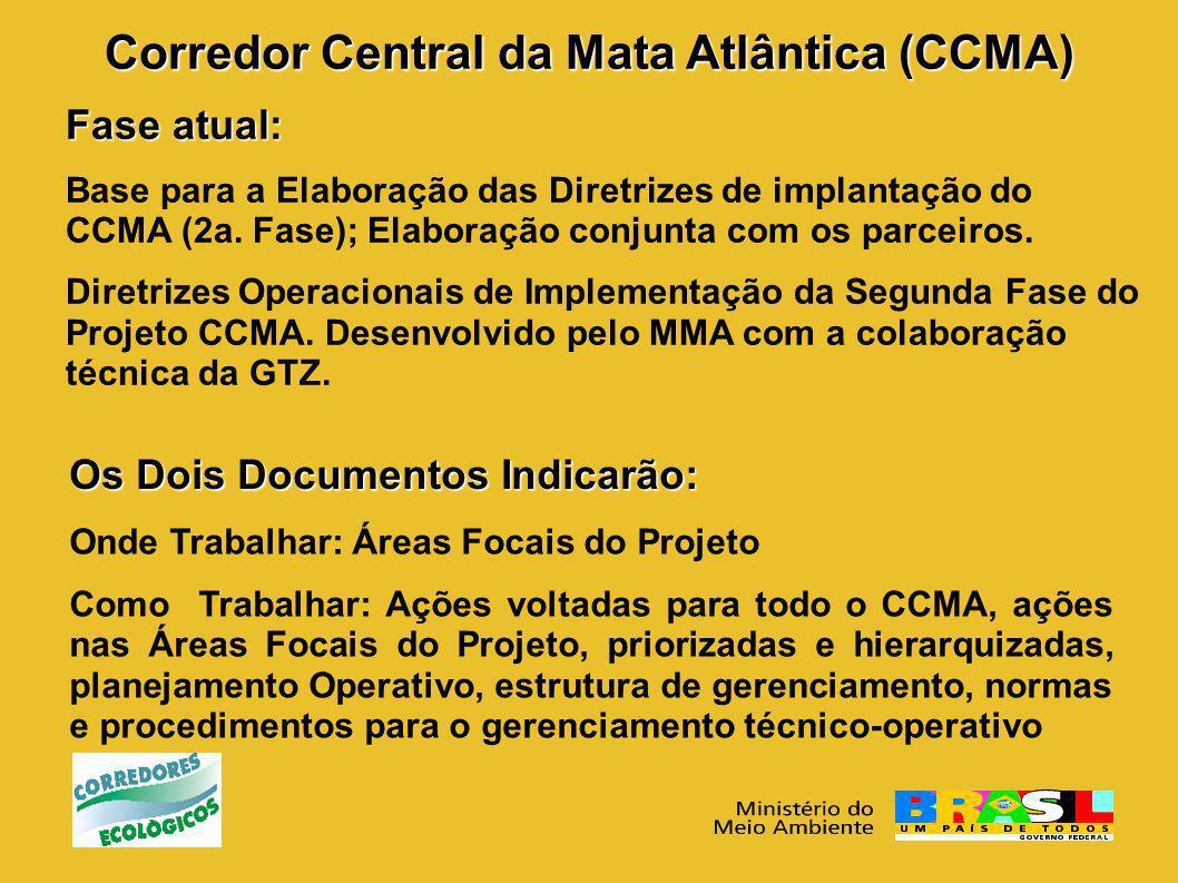 Corredor Central da Mata Atlântica (CCMA)