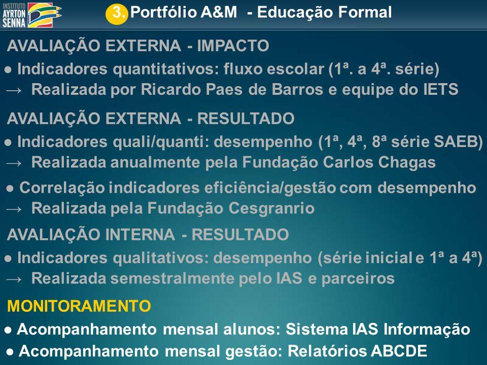 3. Portfólio A&M - Educação Formal