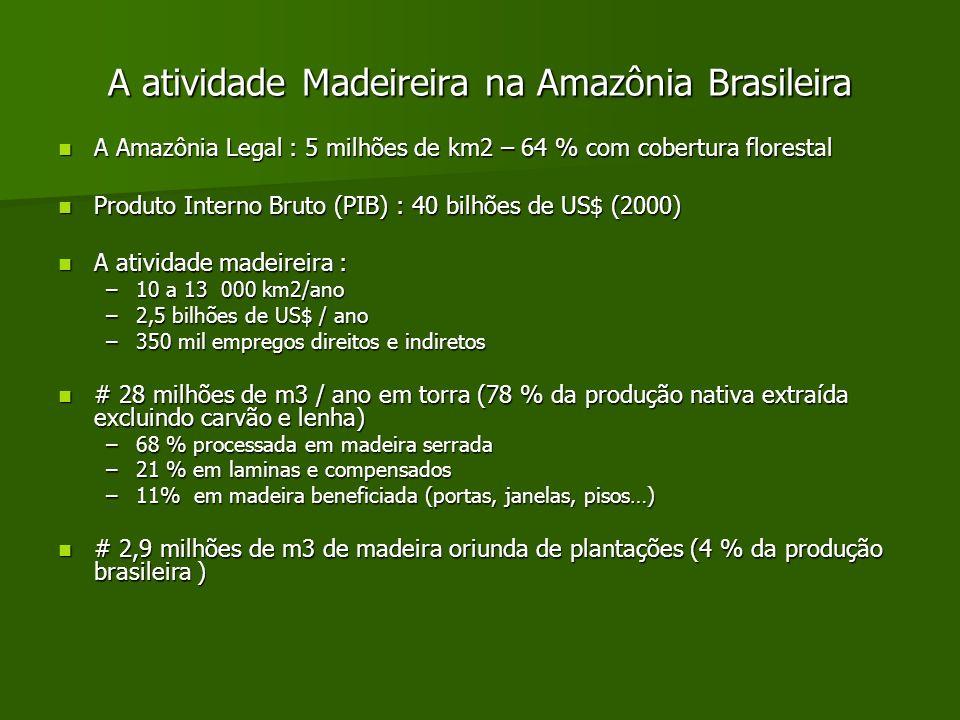 A atividade Madeireira na Amazônia Brasileira