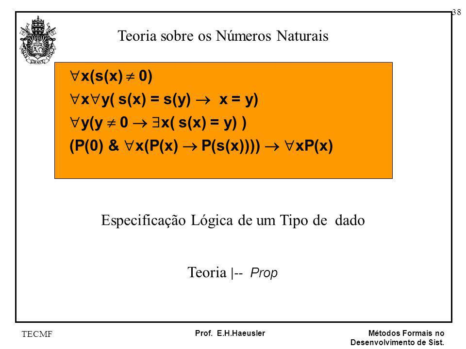 Teoria sobre os Números Naturais