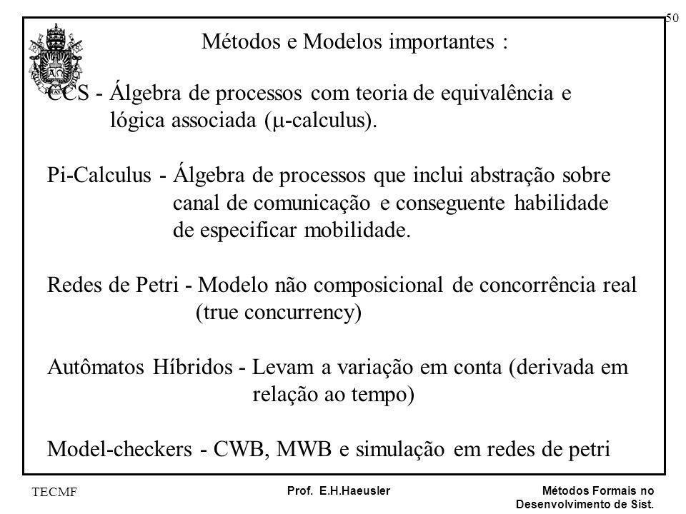 Métodos e Modelos importantes :