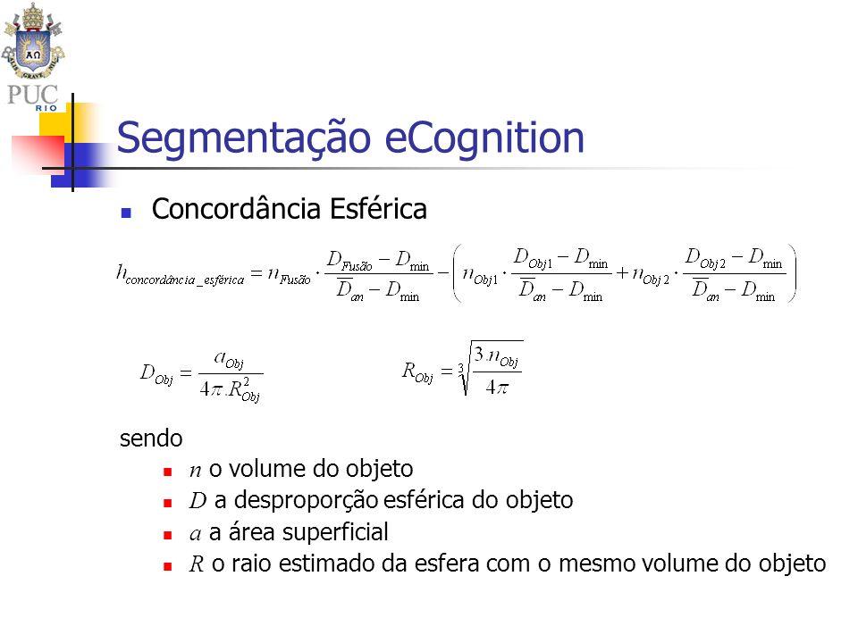 Segmentação eCognition