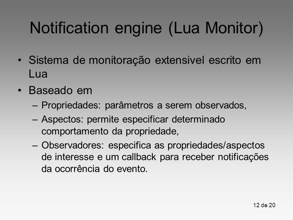 Notification engine (Lua Monitor)