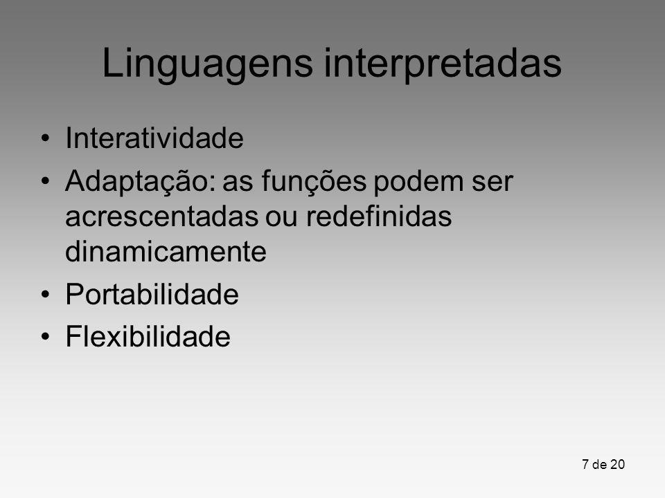 Linguagens interpretadas