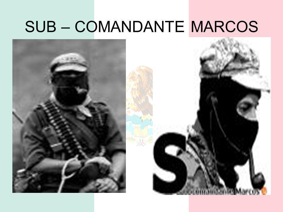 SUB – COMANDANTE MARCOS