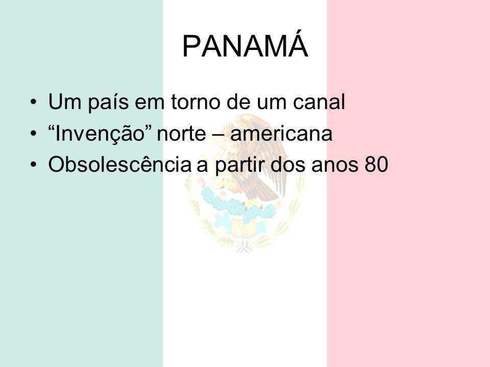 PANAMÁ Um país em torno de um canal Invenção norte – americana