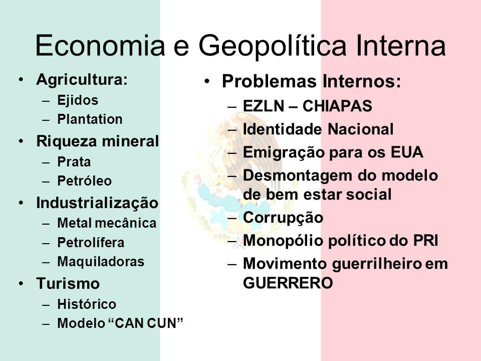 Economia e Geopolítica Interna