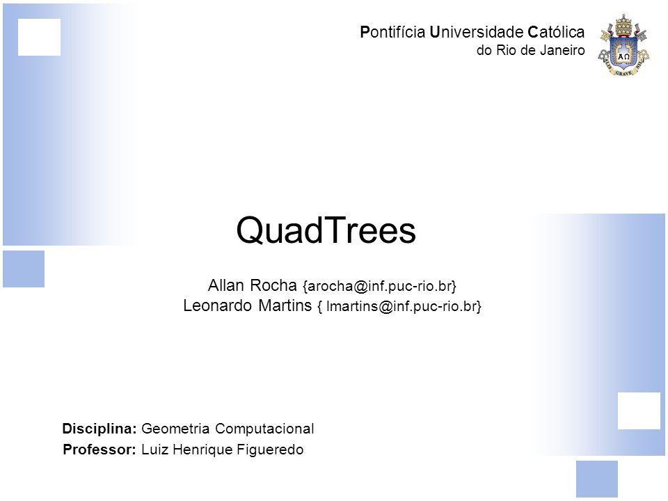 QuadTrees Allan Rocha {arocha@inf.puc-rio.br}