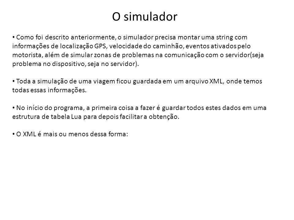 O simulador