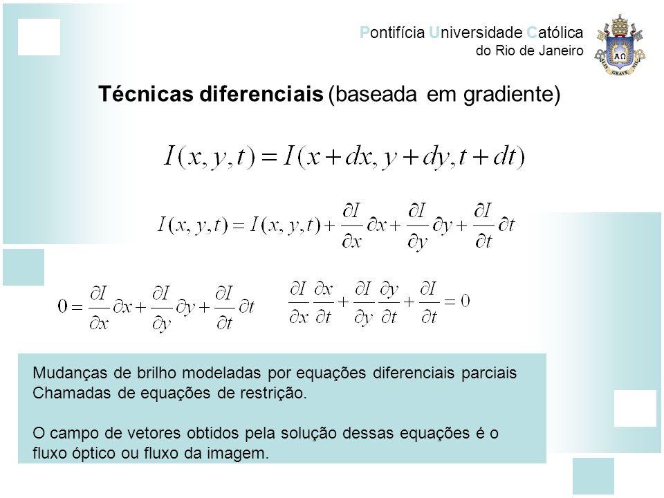 Técnicas diferenciais (baseada em gradiente)