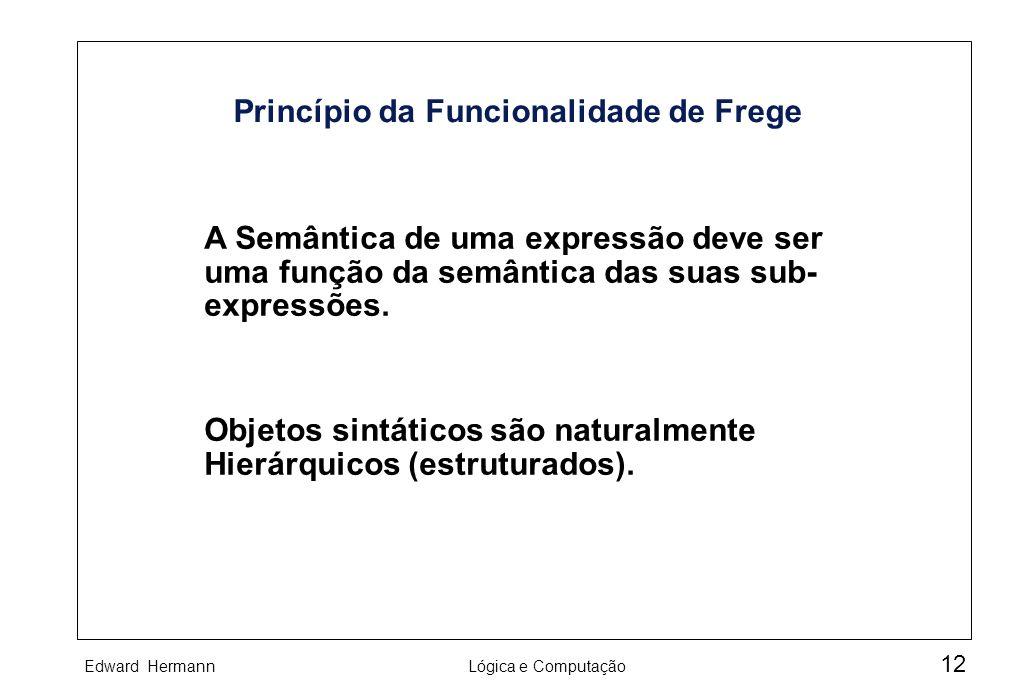 Princípio da Funcionalidade de Frege