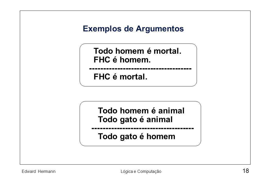 Exemplos de Argumentos