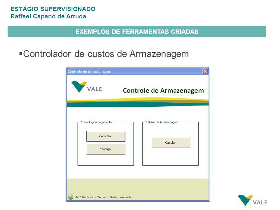 EXEMPLOS DE FERRAMENTAS CRIADAS