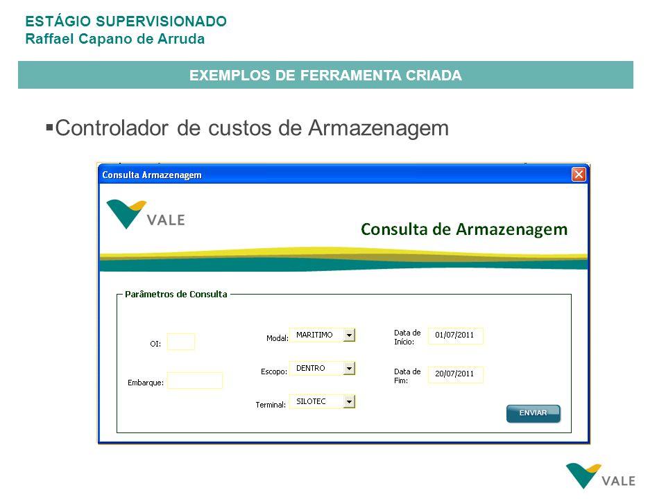 EXEMPLOS DE FERRAMENTA CRIADA