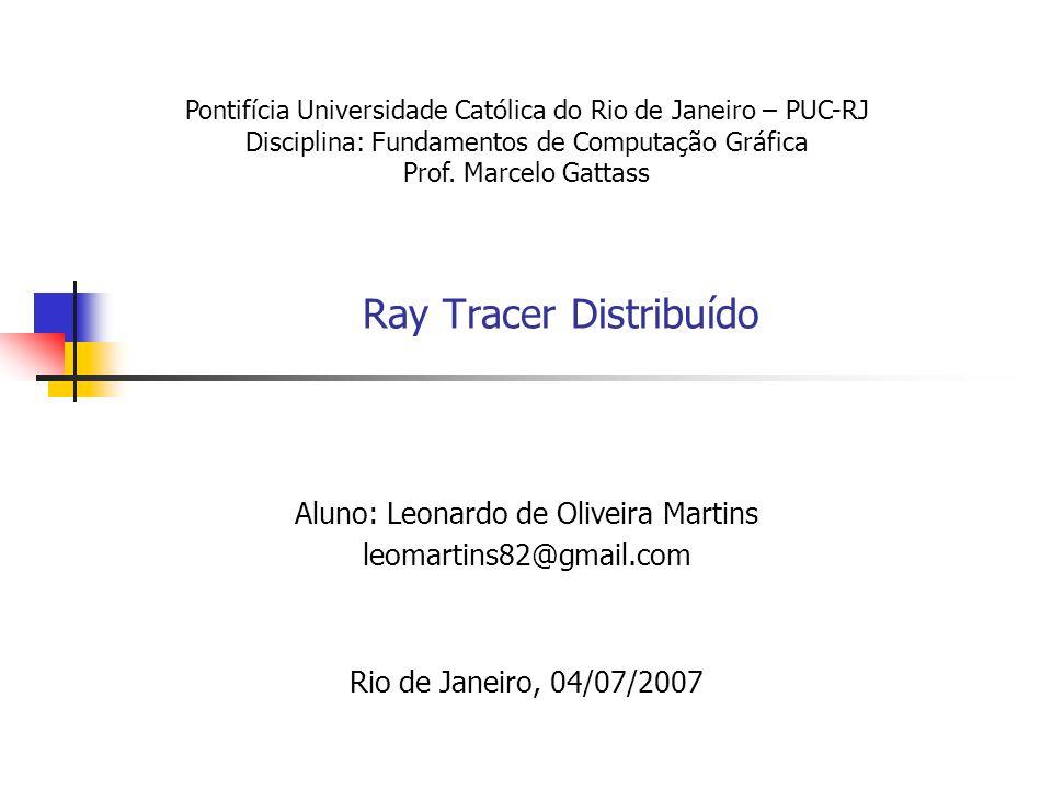 Ray Tracer Distribuído