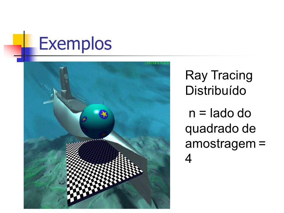 Exemplos Ray Tracing Distribuído