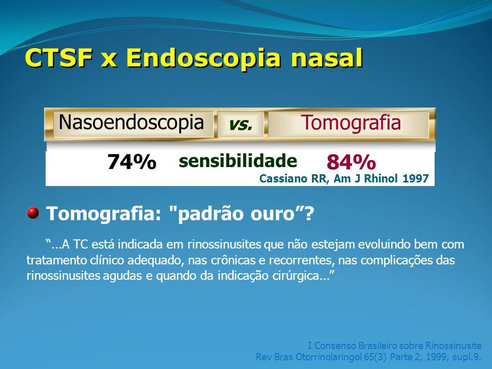 CTSF x Endoscopia nasal