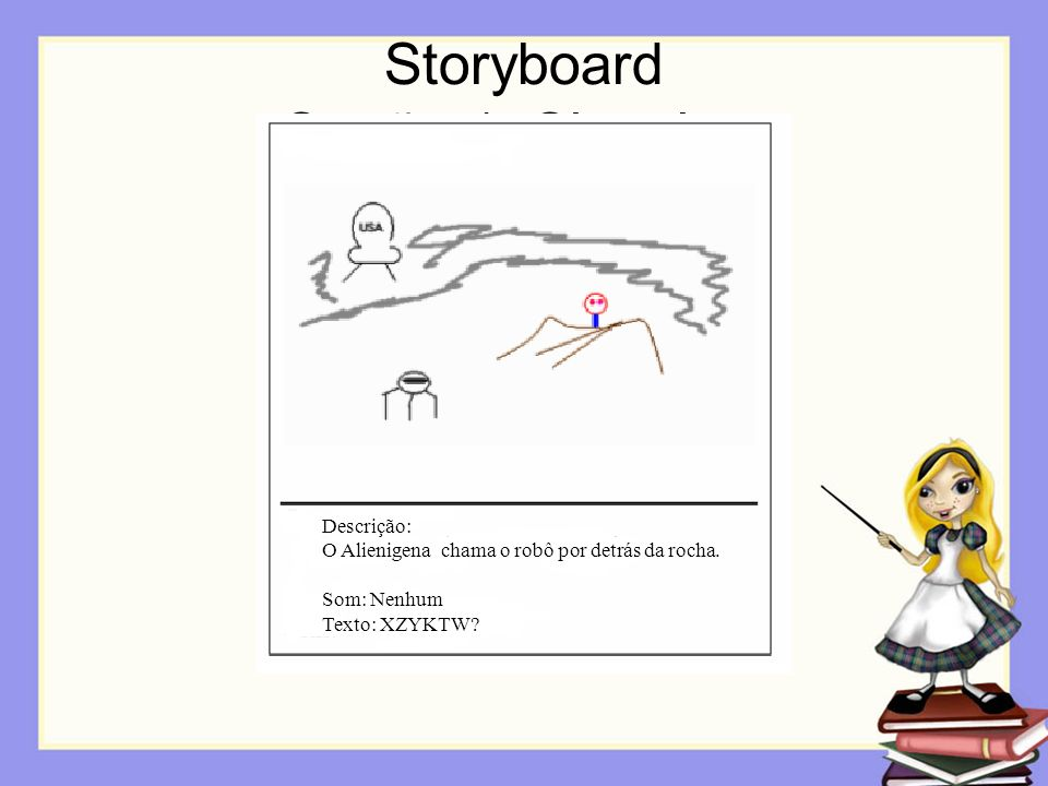 Storyboard Opção 1: Sketches
