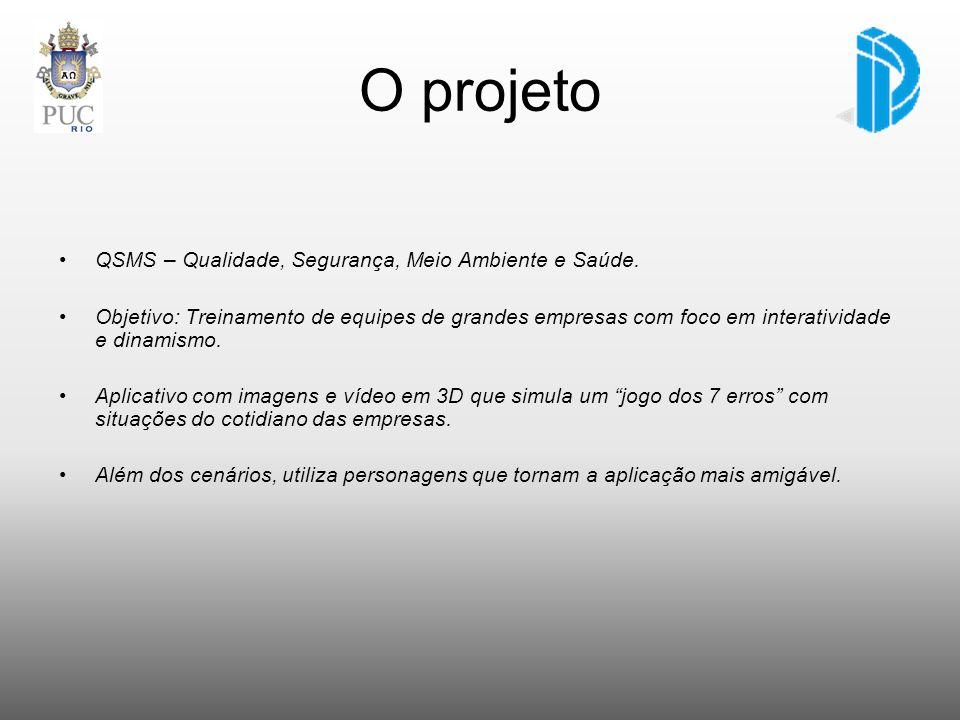 O projeto QSMS – Qualidade, Segurança, Meio Ambiente e Saúde.