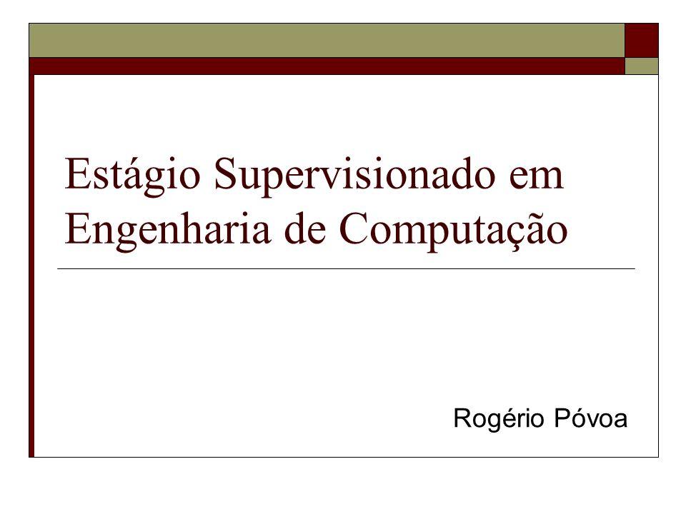Estágio Supervisionado em Engenharia de Computação