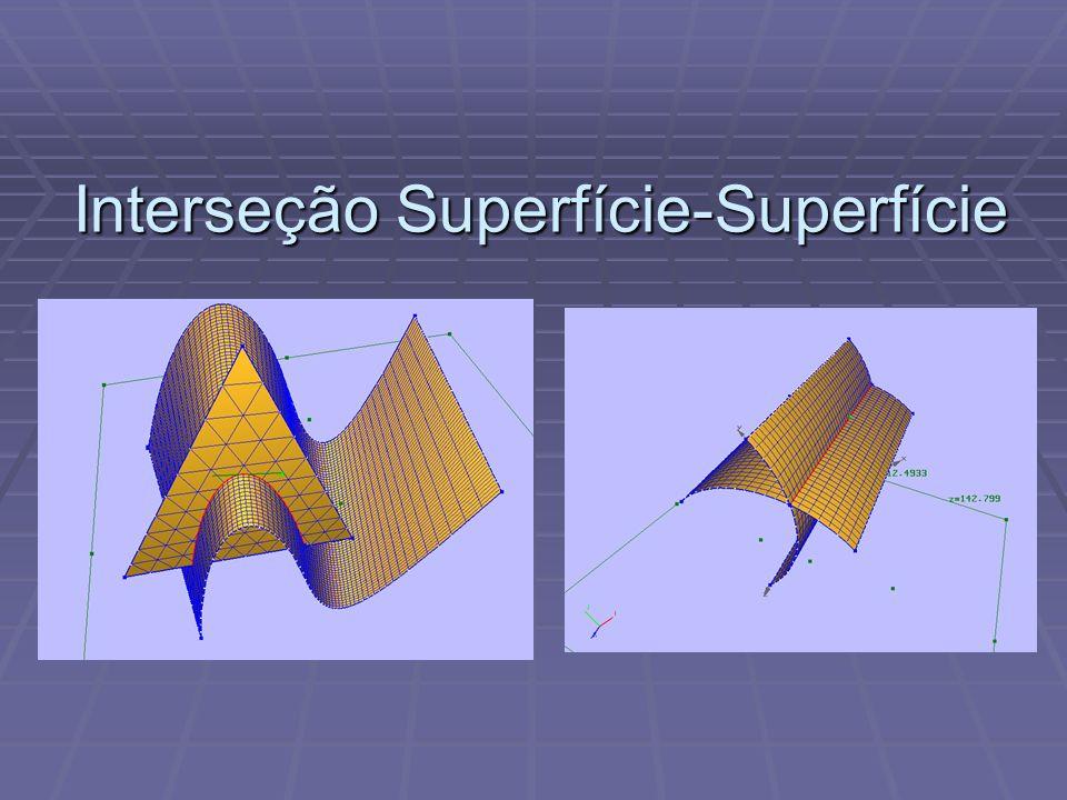 Interseção Superfície-Superfície