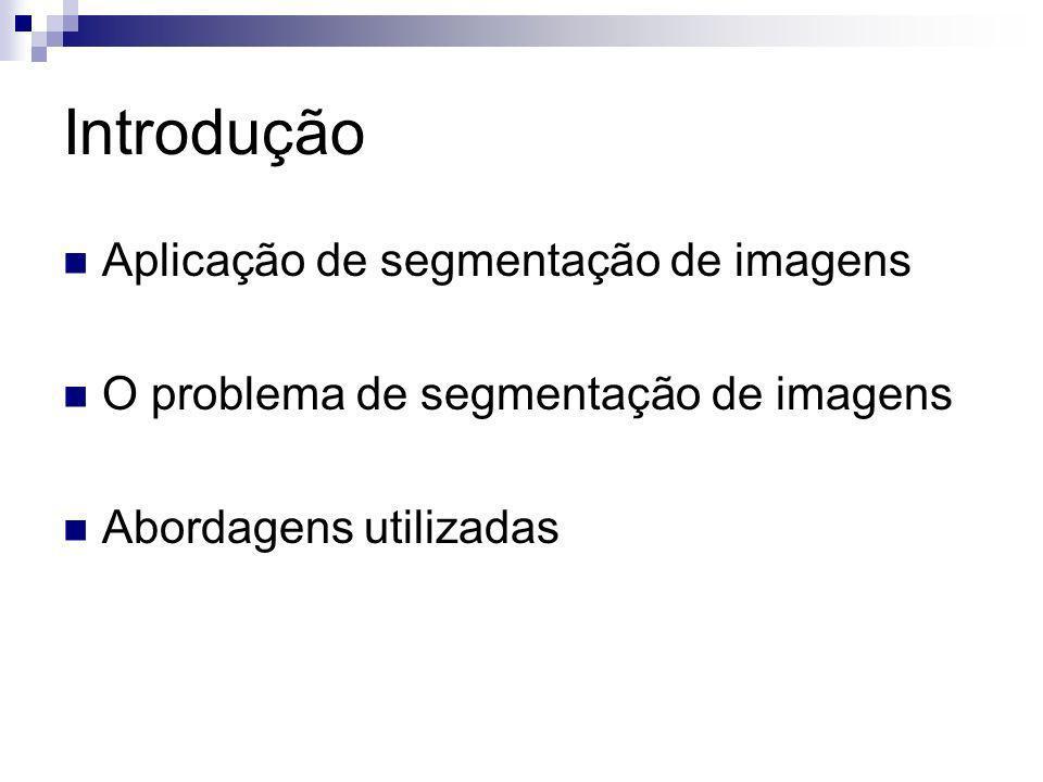 Introdução Aplicação de segmentação de imagens