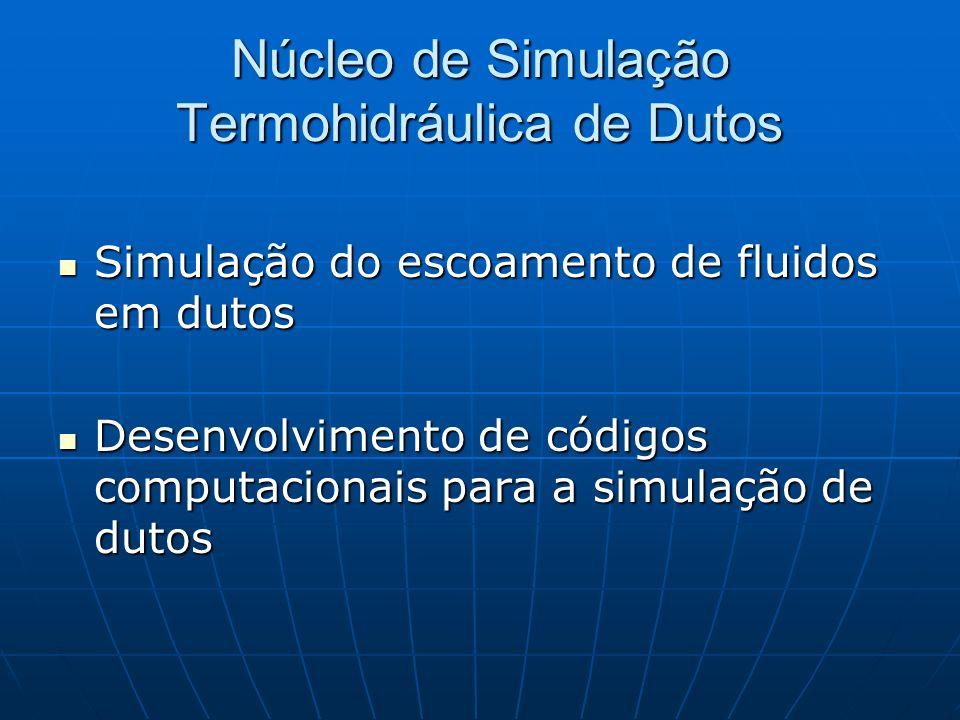 Núcleo de Simulação Termohidráulica de Dutos