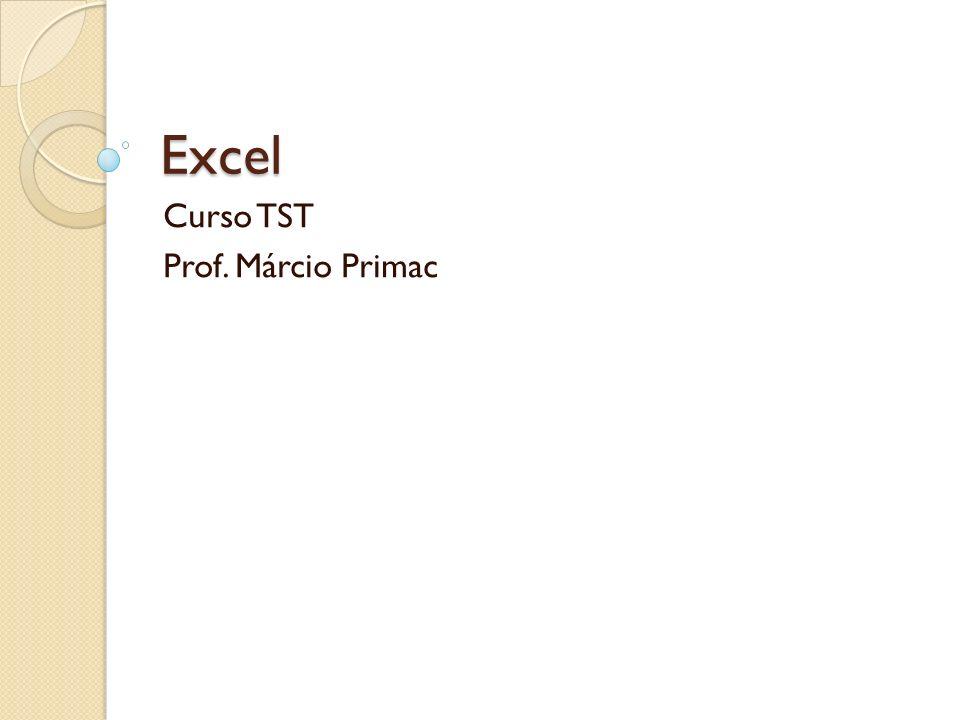 Curso TST Prof. Márcio Primac