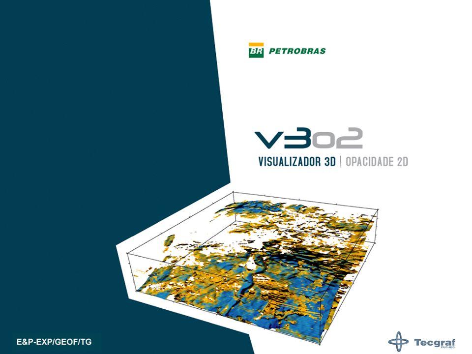 Para o público que ainda não conhece, vamos apresentar o Visualizador 3D v3o2 que está sendo desenvolvido na Petrobras, em parceria com a PUC-Tecgraf