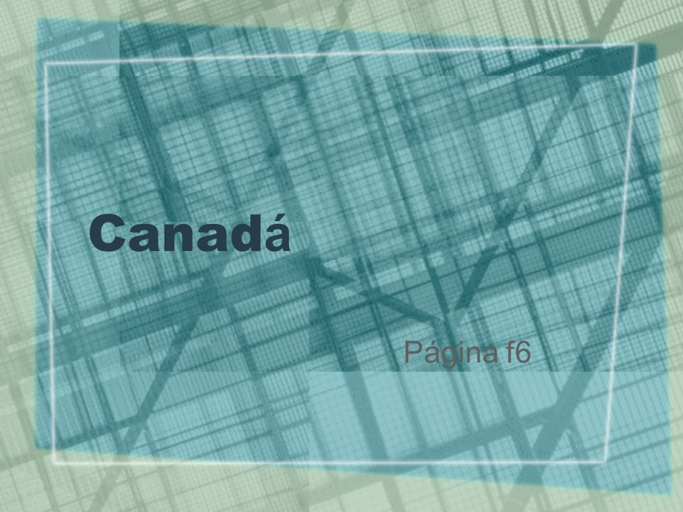 Canadá Página f6