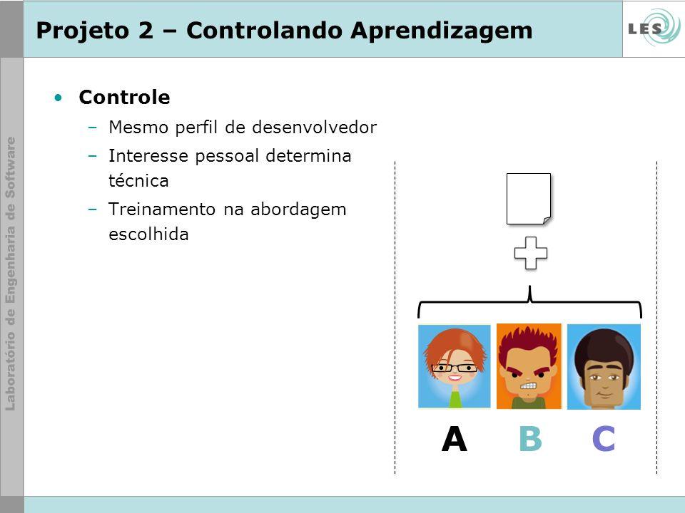 Projeto 2 – Controlando Aprendizagem