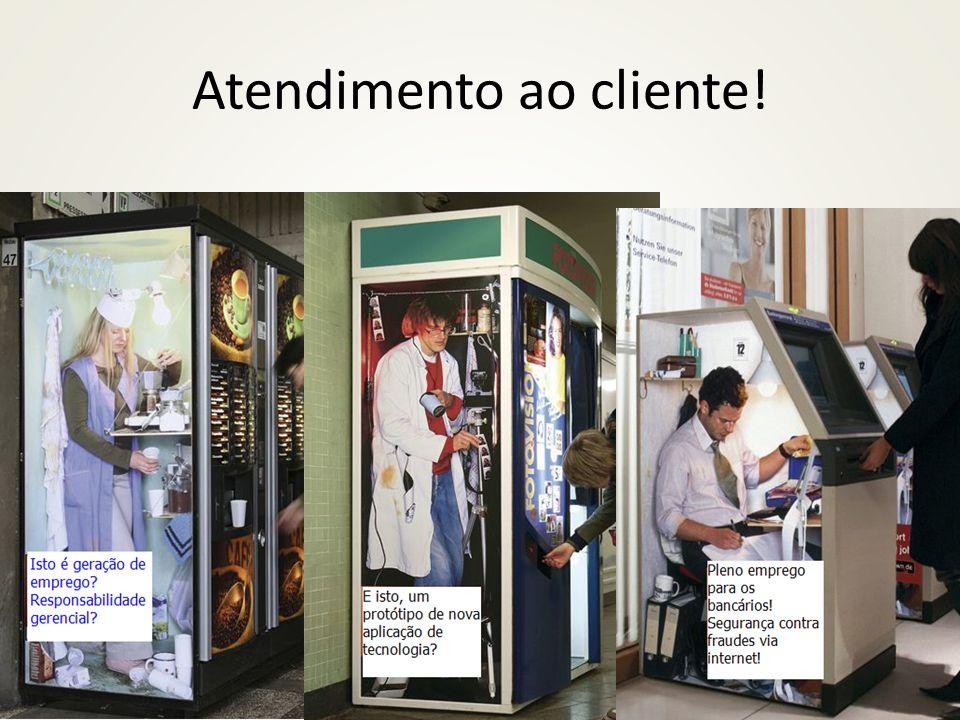 Atendimento ao cliente!