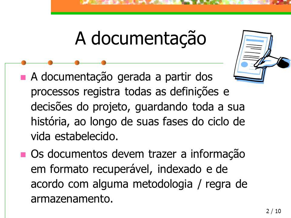 A documentação