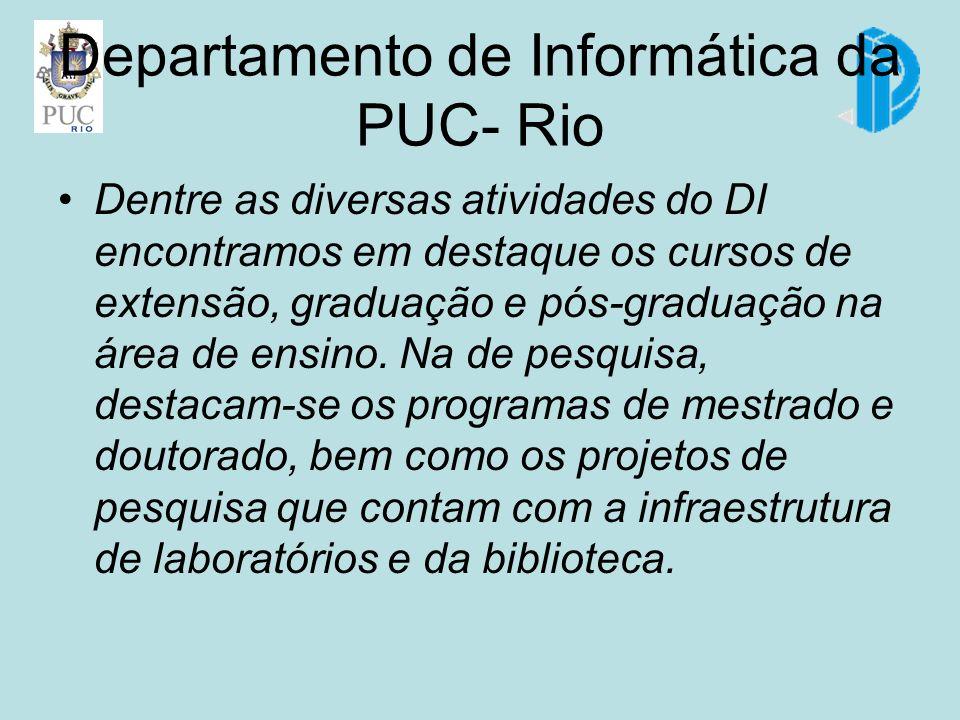 Departamento de Informática da PUC- Rio