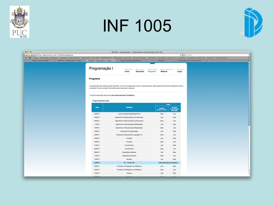 INF 1005