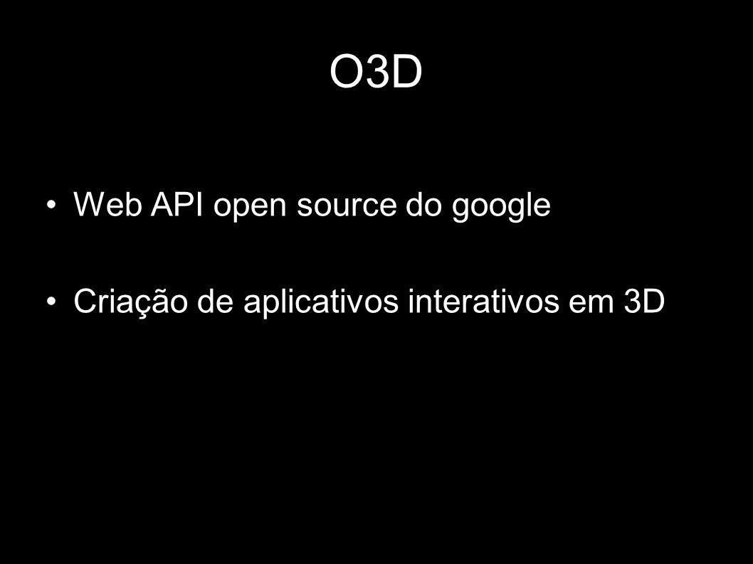 O3D Web API open source do google