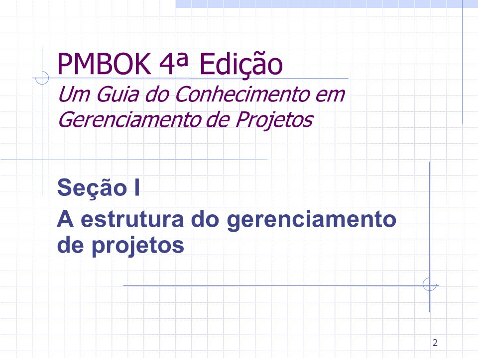 PMBOK 4ª Edição Um Guia do Conhecimento em Gerenciamento de Projetos