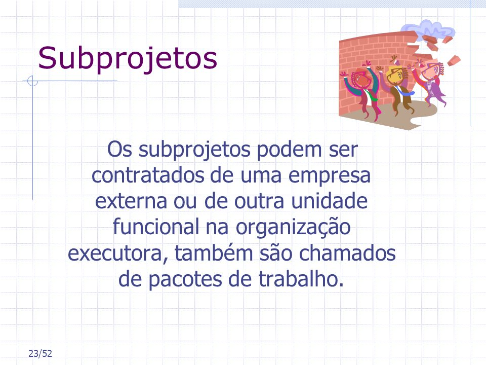 Subprojetos