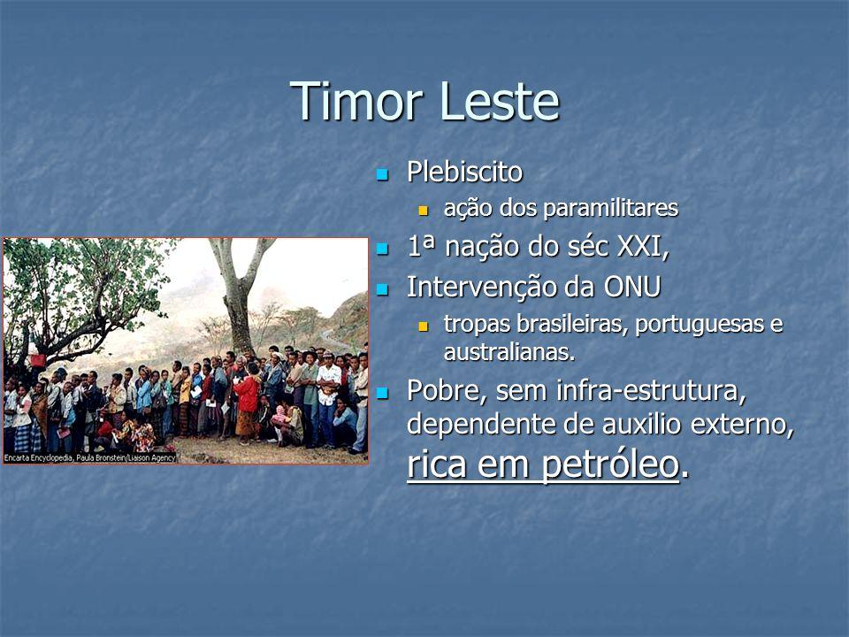 Timor Leste Plebiscito 1ª nação do séc XXI, Intervenção da ONU