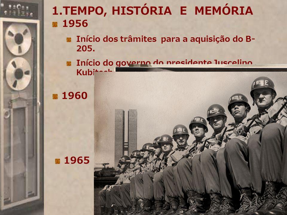 TEMPO, HISTÓRIA E MEMÓRIA