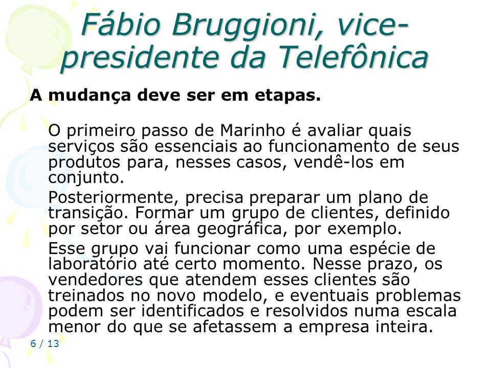 Fábio Bruggioni, vice-presidente da Telefônica