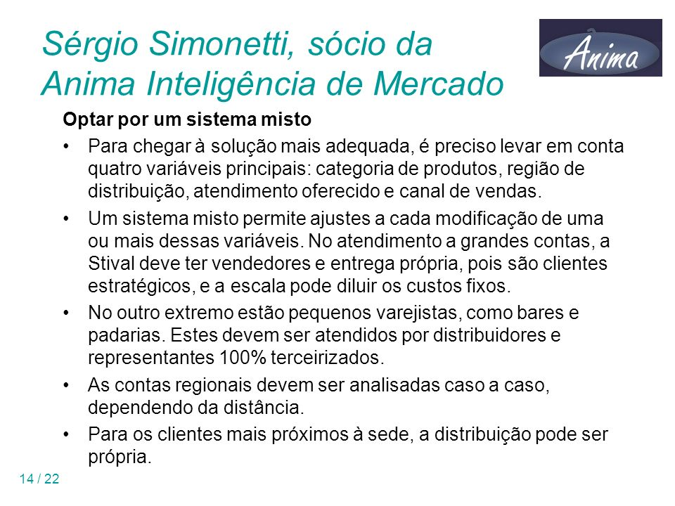 Sérgio Simonetti, sócio da Anima Inteligência de Mercado