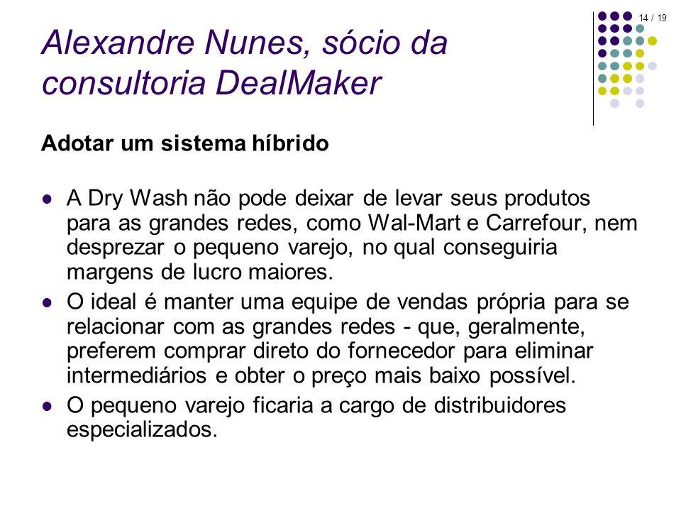 Alexandre Nunes, sócio da consultoria DealMaker