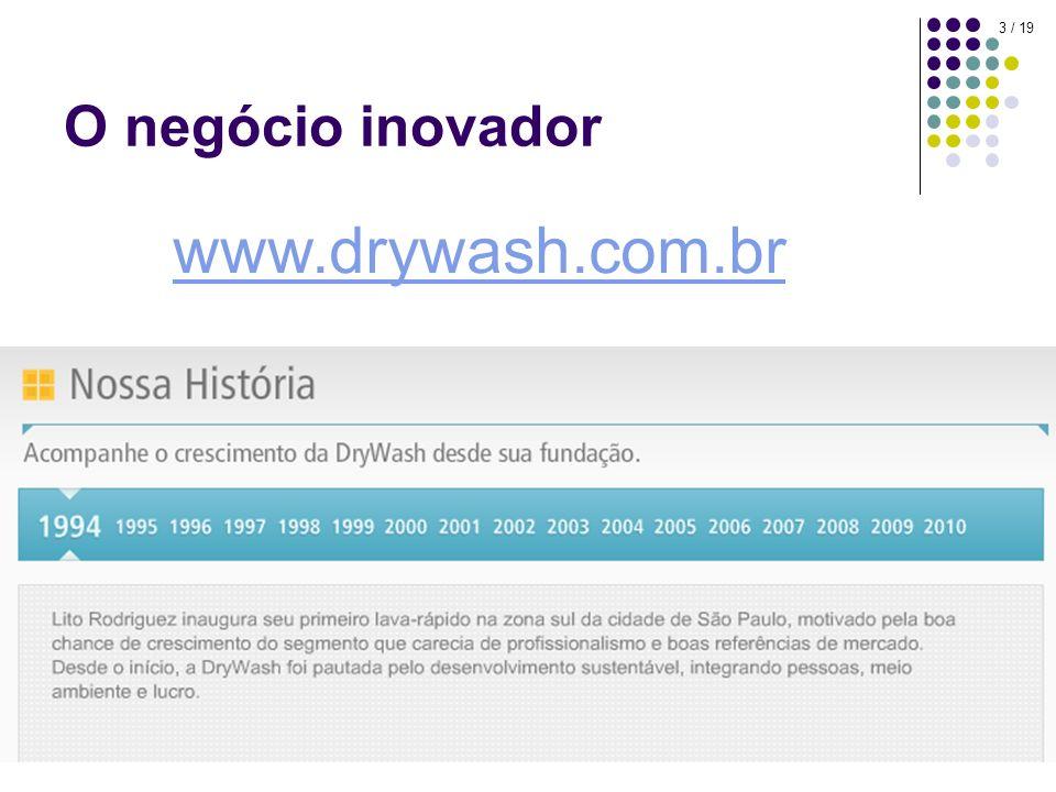 O negócio inovador www.drywash.com.br