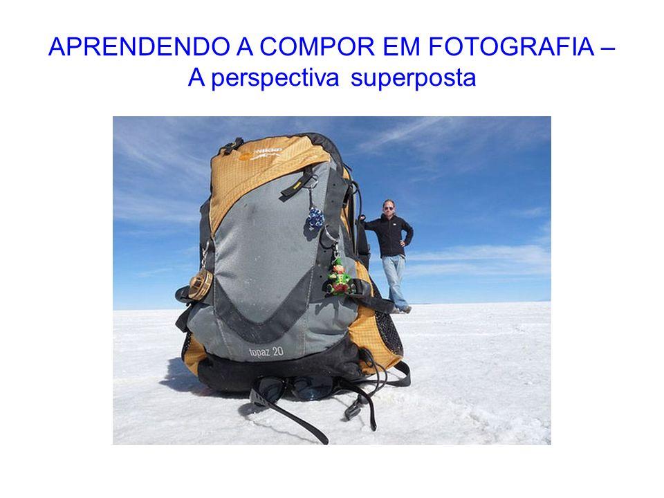 APRENDENDO A COMPOR EM FOTOGRAFIA – A perspectiva superposta