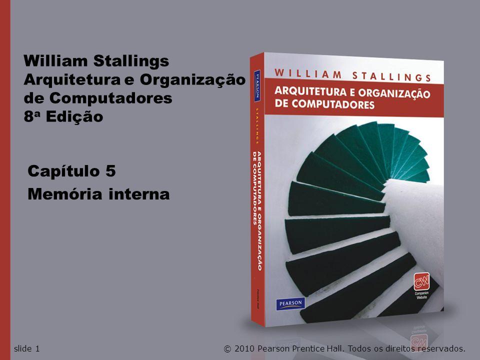 William Stallings Arquitetura e Organização de Computadores 8a Edição
