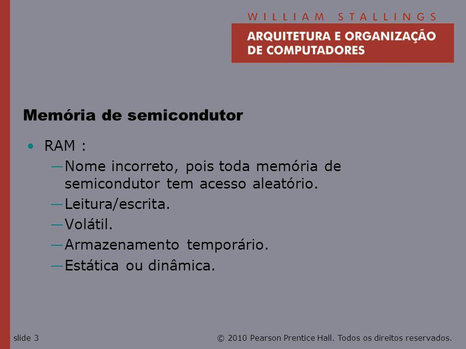 Memória de semicondutor