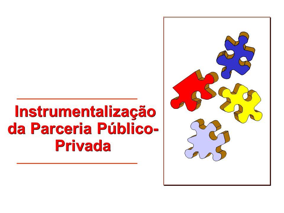 Instrumentalização da Parceria Público-Privada